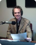 Scott Fox in studio