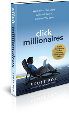 Click Millionaires Internet Lifestyle Business Book