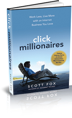 Click Millionaires Lifestyle Business Book in Bookstores Nationwide on June 1