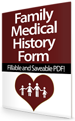 Family Medical History Form Fillable Saveable PDF File
