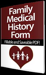 Family Medical History Form 150