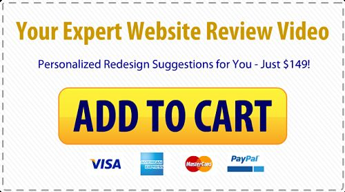 Website Review Video Order Button