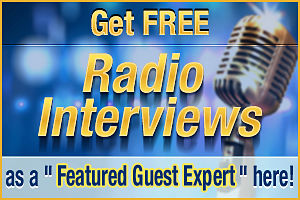 Get Radio Interviews as a Featured Guest Expert!