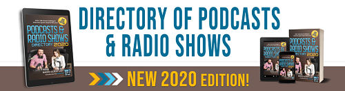 Directory of Podcasts and Radio Shows for Publicity Interviews